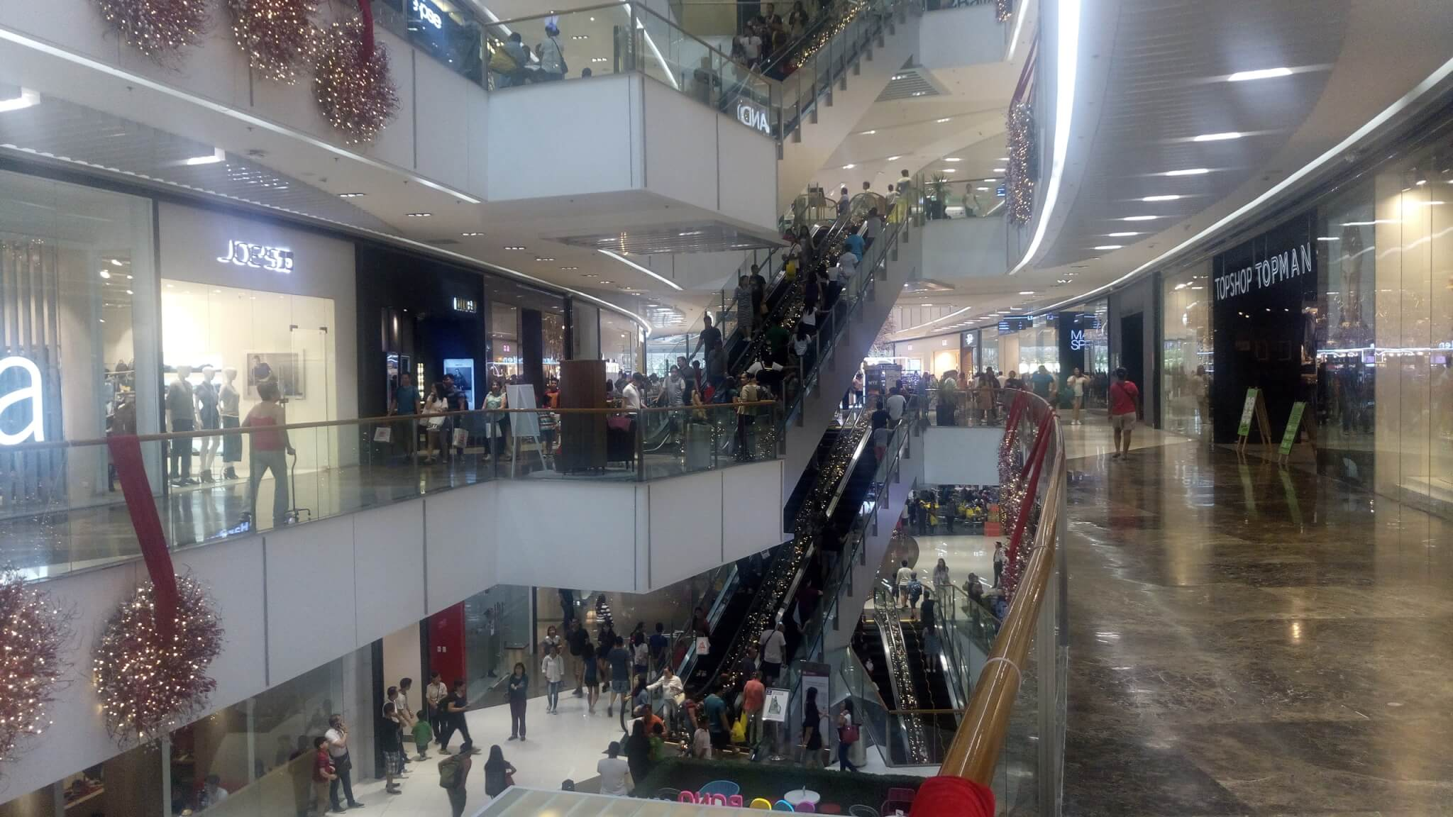 マニラのショッピングモール