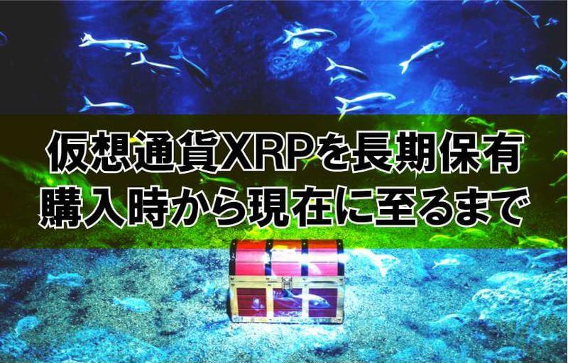 仮想通貨XRPを長期保有・・・購入時から現在に至るまで