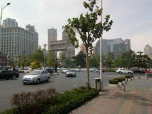 中山広場のラウンドアバウト